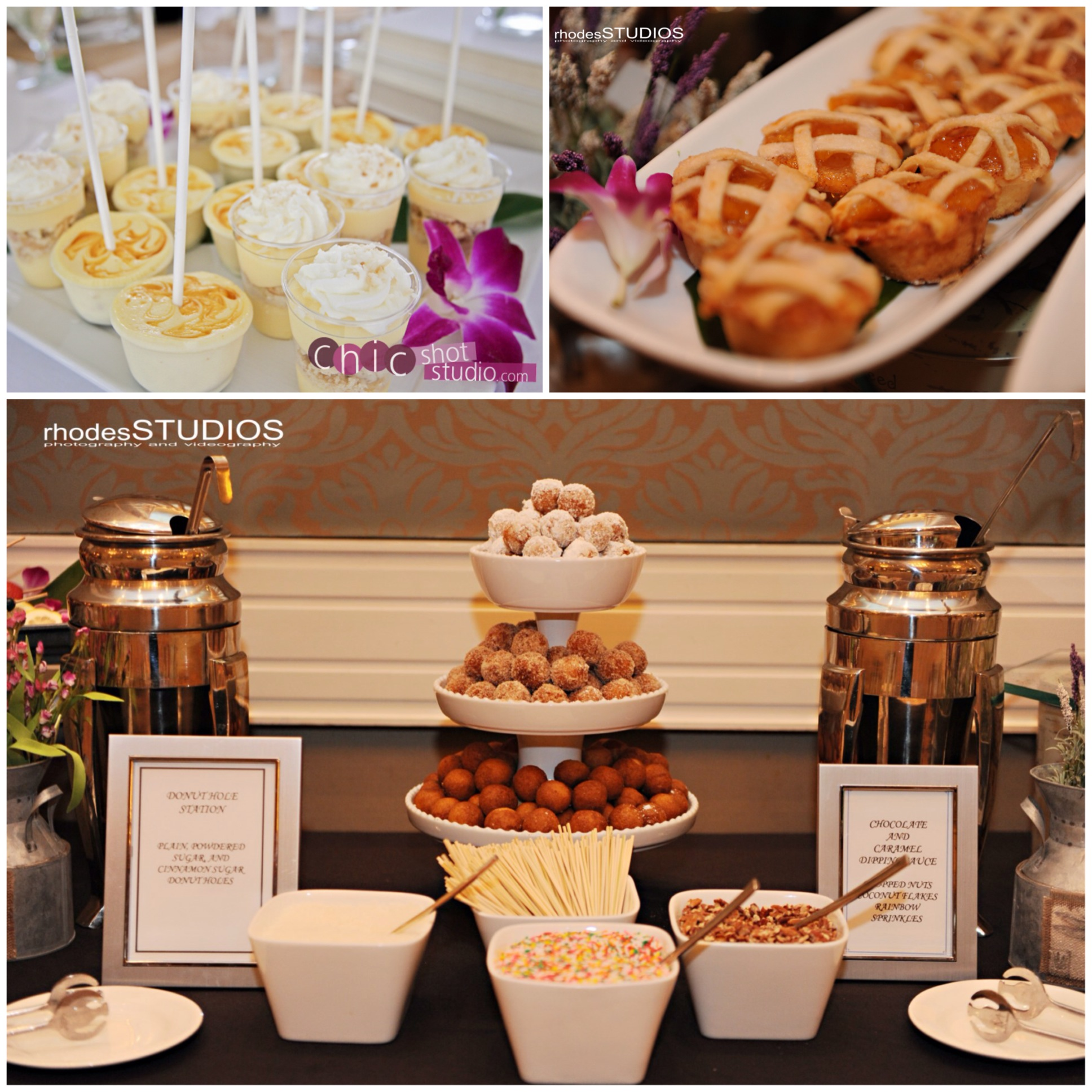 Wedding Reception: To Plate Or Not To Plate: Brunch Wedding Receptions